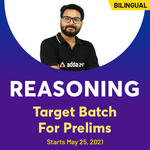 Reasoning Target Batch For Prelims | Bilingual (Hinglish) | Live Classes By Adda247