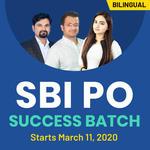 SBI PO SUCCESS BATCH   SBI PO 2020 (Pre+Mains)   Super Educators   Bilingual   Live Classes
