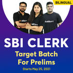 SBI Clerk Prelims Target Batch | Bilingual (Hinglish) | Live Classes By Adda247