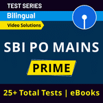 SBI PO Mock Tests for Mains 2020-21 Exams | Complete Bilingual Test Series by Adda247