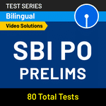 SBI PO Prelims 2020 Online Test Series by Adda247