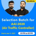 Selection Batch Online Coaching Classes for AAI-2020 (Air Traffic Controller) | Complete Bilingual Batch by Adda247