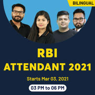 RBI Attendant 2021 Complete Live class Batch | Bilingual Live Classes by Adda247