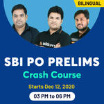 SBI PO Online Coaching Classes | Crash Course for SBI PO Prelims | Complete Bilingual Batch by Adda247