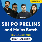 SBI PO PRELIMS AND MAINS ONLINE COACHING | BILINGUAL LIVE CLASS