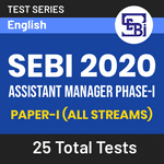 SEBI Assistant Manager Phase I 2020 Online Test Series