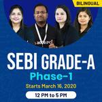 SEBI-GRADE A-Phase 1-Paper 1 + Paper 2 (General)  Bilingual Live Classes