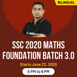 SSC 2020 Math Foundation Batch 3.O | Bilingual | Live Classes
