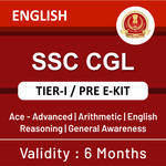 SSC CGL Tier-I 2020-2021 eBook Kit (English Medium)