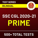 SSC Online Test Series For CGL Prime (With Solutions) 2020-2021 | Complete Bilingual Tests by Adda247
