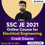 SSC JE 2021  Online course for Electrical Engineer Crash course | Bilingual Live Classes by Adda247