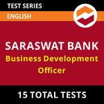 Saraswat Bank Business Development Officer 2021 Online Test Series