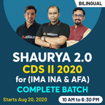 CDS 2 2020 preparation for IMA INA & AFA | Complete Bilingual Shaurya 2.0