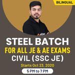 """"""" Steel batch for all JE & AE Exams """" Civil (SSC JE) 
