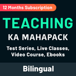 Teaching Exams का Maha Pack (Live Classes | Test Series | Video Course | Ebooks) Validity: 12 Months
