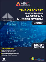 The Cracker Practice eBook for Algebra and Number System (English Edition)