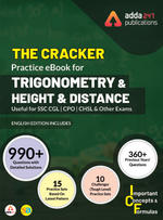 The Cracker Practice eBook for Trigonometry and Height & Distance (English Edition)