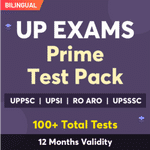 UP Exam Online Test Series Prime Test Pack for UPPSC Prelims, UP SI, UP RO/ARO , UPPSC AE , UPSSSC JE & Others 2021