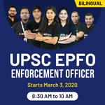 UPSC EPFO Complete Batch Enforcement Officer  Bilingual   Live Classes
