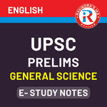 UPSC Prelims General Science E-Study Notes 2020 (English Medium eBooks)