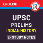 UPSC Prelims Indian History E-Study Notes 2020 (English Medium eBooks)