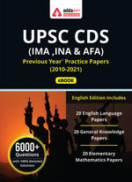 UPSC CDS (IMA ,INA & AFA) Previous Year Paper ebook (2010- 2021)