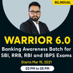WARRIOR 6.0 | Banking Awareness Batch for SBI, RRB, RBI and IBPS Exams | Bilingual Live Classes By Adda247