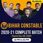 Bihar Constable 2020-21 Complete Batch | Bilingual | Live Class