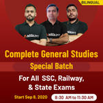 General Studies Online Coaching classes For SSC, Railway and State Exam: Join General Studies Special Batch