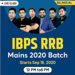 Online Live Classes for IBPS RRB Mains 2020 | Complete Bilingual Batch by Adda247