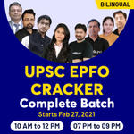 UPSC EPFO Cracker Complete Batch | Bilingual Live Classes By Adda247