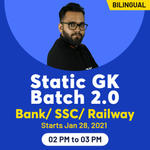 Static GK Online Course  for all Govt Exams  Bank/SSC/ Railway  Batch 2.0  Live Classes | Bilingual