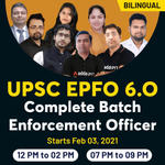 UPSC Live Online Classes for EPFO | Complete Bilingual 6.0 Batch for Enforcement Officer by Adda247
