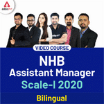 NHB Assistant Manager Video Course for Scale-I 2020 Video Lectures for NHB Assistant Manager Adda247