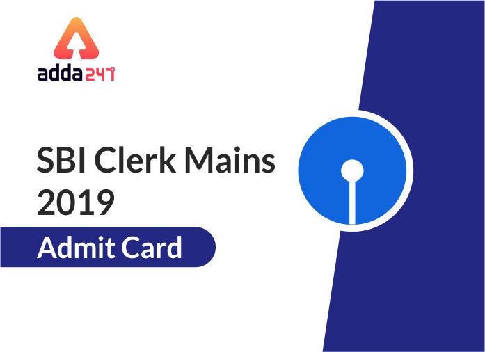 SBI Clerk Main Examination 2019: Admit Card_40.1
