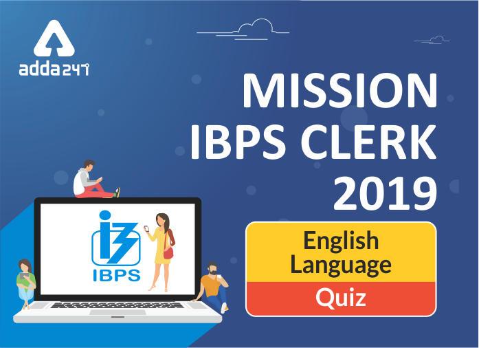 English Quiz for IBPS Clerk Prelims 27th November_40.1