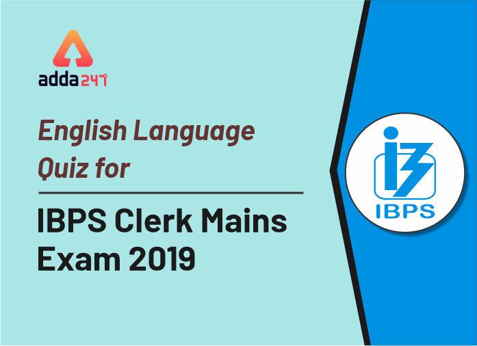 English Quiz IBPS Clerk Mains: 24th December_40.1
