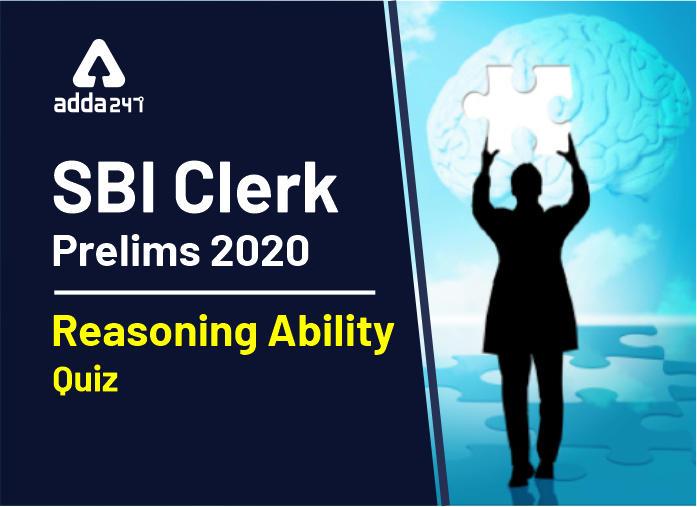 SBI Clerk Prelims Reasoning Mini Mock-3: Puzzle, Coding-decoding and Blood relation_40.1
