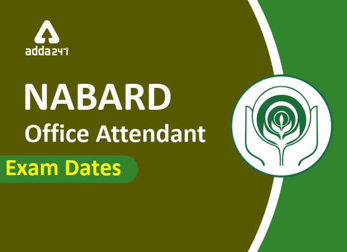 NABARD Office Attendant Mains Exam Date 2020_40.1