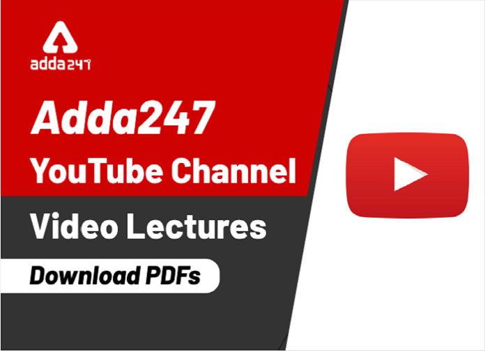 ADDA247 Daily Videos & PDF: 11th February 2020_40.1