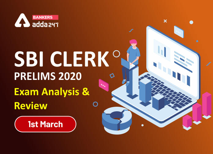 SBI Clerk Exam Analysis 2020 Prelims Question asked and Good Attempts: 1 March Shift 2_40.1