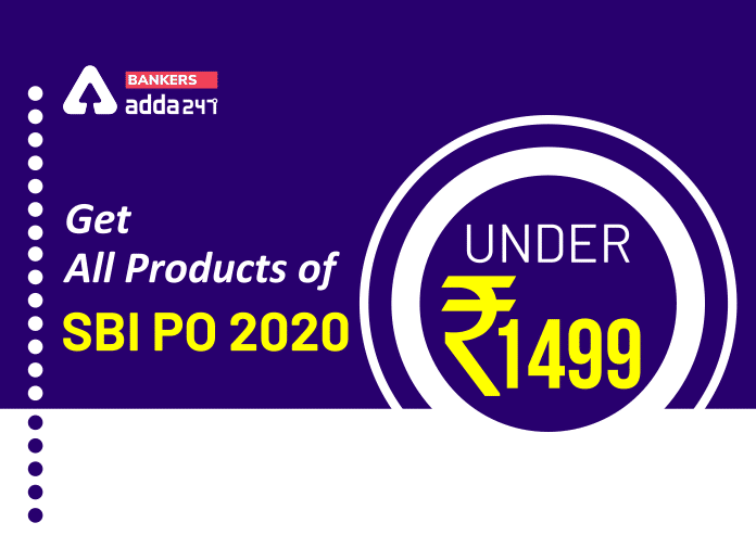 Get All Study Material of SBI PO 2020 Under Rs. 1499_40.1