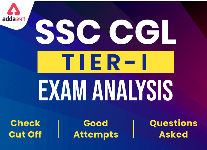 SSC CGL Exam Analysis 2019-20, Check Complete Tier 1, 3rd March Shift 1_40.1