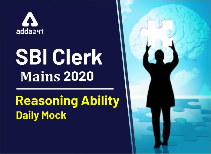 Reasoning Quiz 12 April- Reasoning Quiz for SBI Clerk Mains 2020_40.1