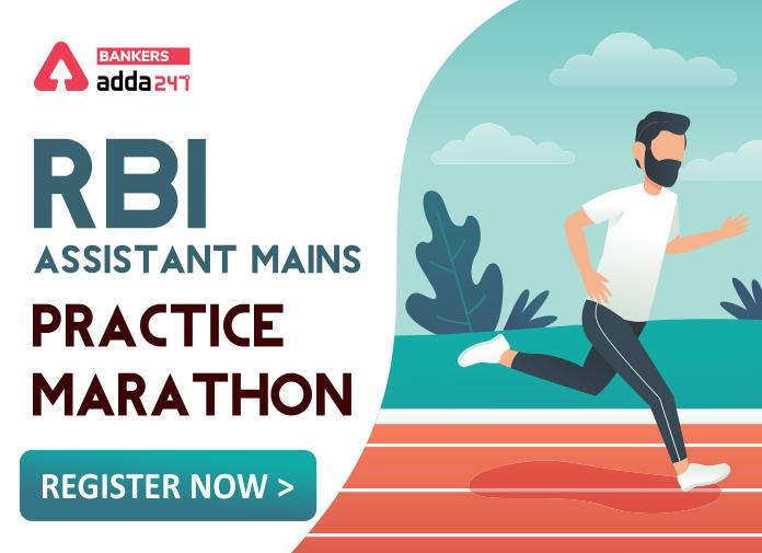 RBI Assistant Mains 2020 Marathon_40.1