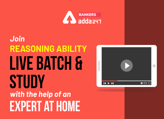Join Reasoning Ability Live Batch and Study with the help of an Expert at Home_40.1