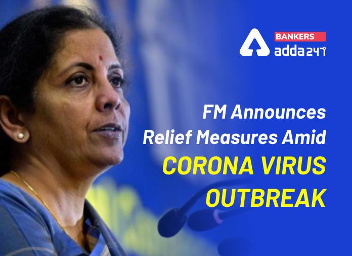 FM Nirmala Sitharaman Announces Relief Measures Amid Corona Virus Outbreak_40.1