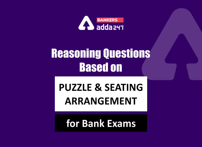 Reasoning Questions based on Puzzle and Seating Arrangement for Bank Exams_40.1