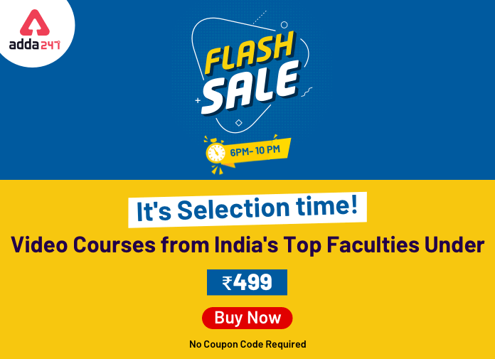 Flash Sale- Get Video Courses from India's Top Faculties Under Rs. 499_40.1