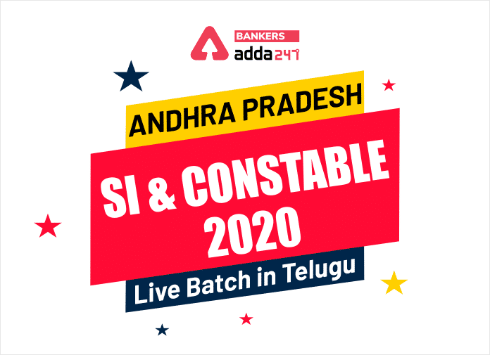 Andhra Pradesh SI and Constable 2020 | Live Batch in Telugu | Only Few Seats Left_40.1